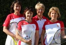 v.l.n.r.: Heidrun Ziegler-Kutschera, Sigrid Krügel, Gisela Kinzler und Silvia Hofmann