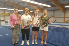 v.l.n.r.: Birte Dlapal, Laura Schönberg, Sophia Thiele und Verena Fernandes