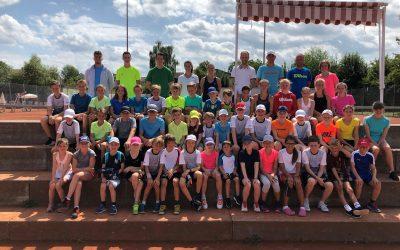 Tenniscamp sorgt für Begeisterung